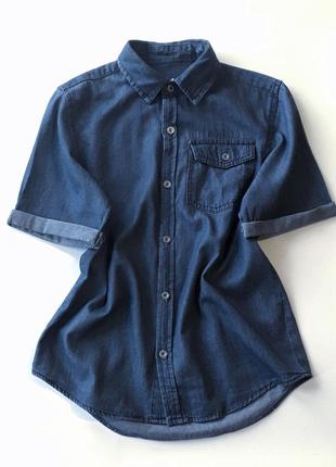 Джинсова сорочка rebel👍