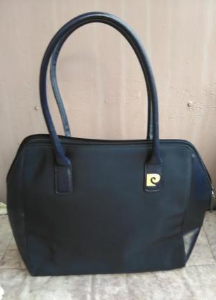 Шикарная винтажная сумка pierre cardin