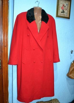 Пальто кашемірове,50-54 розмір,френч
