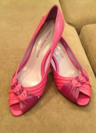 Новые, изумительно элегантные летние туфельки бренда respect р.39
