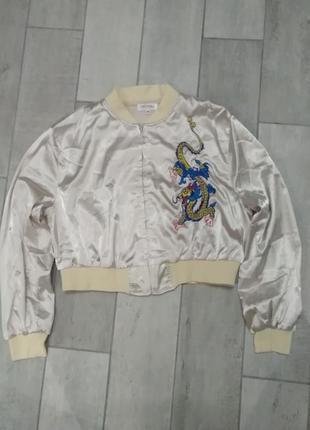 Крутой бомбер куртка