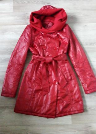 Куртка, курточка, пальто, плащ теплый, р. s