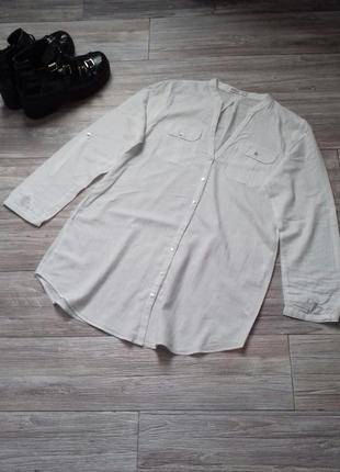 Легкая блуза v вырез👕