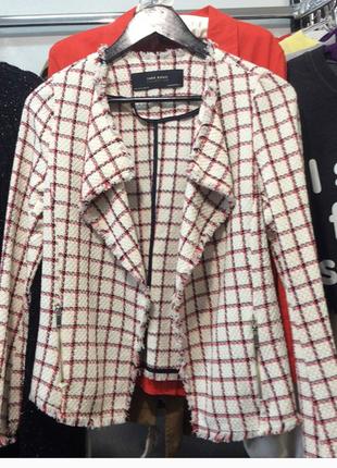 """Новый твидовый пиджак zara """"s"""""""