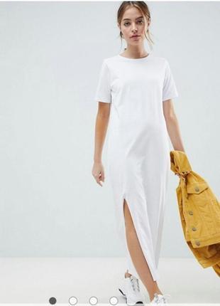 Макси платья футболка от asos
