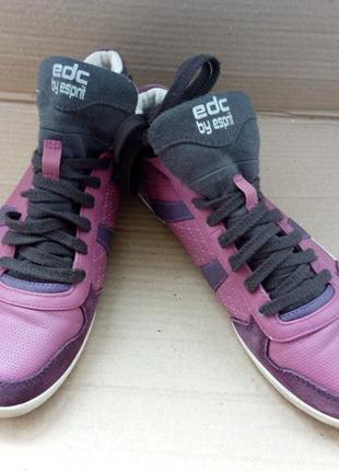 Кросівки шкіряні