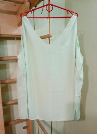 Базовая блуза свободного кроя большого размера uk30