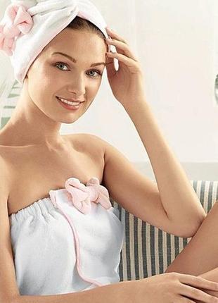 Полотенце для волос тюрбан avon