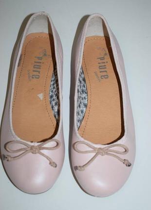 Кожаные балетки p.i.u.r.e. leather