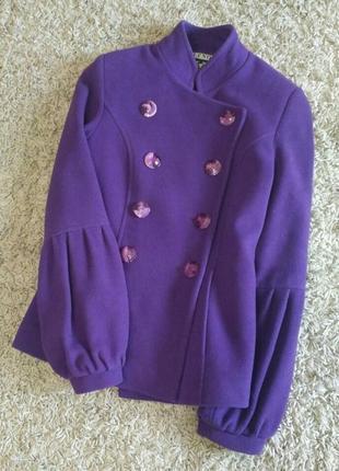 Кашемировое пальто lenora, 40-42 р., s, xs, женское, полупальто, демисезонное