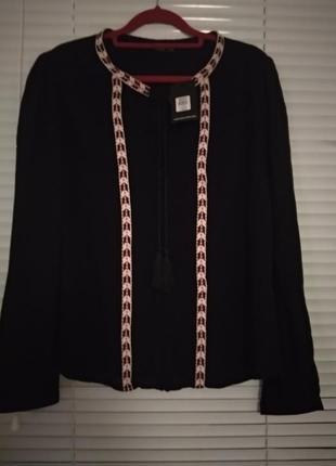 Рубашка из вискозы с окантовкой от oasis