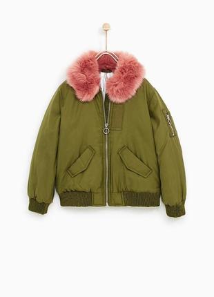 Деми куртка zara