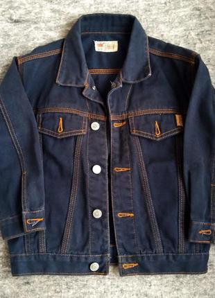 Джинсовая куртка на 6 лет