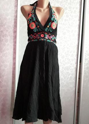Платье вышиванка в идеальном состоянии вышивка вышитое