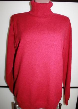 Шерстяной свитер гольф woolovers, р. l, на 50 р