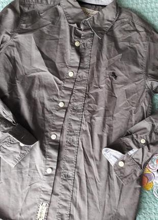 Рубашка h&m l.o.g.g на возраст 8/9 лет