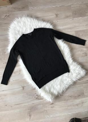 Базовый чёрный свитер atmosphere s/m