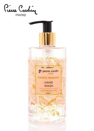 Pierre cardin liquid hand wash 350 ml - exotic passion жидкое мыло для рук