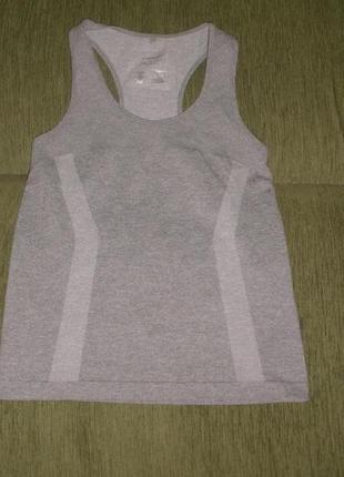 Удобная футболка майка боксерка для фитнеса atmosphere workout /англ 10-12