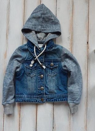 Matalan  стильная джинсовая куртка на мальчика 3 года