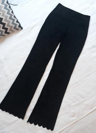 Hugo boss дизайнерские#эксклюзивные#замшевые#кожаные брюки#штаны, 100% кожа#замша.