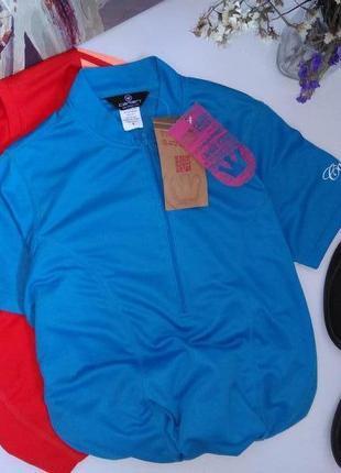 Canari спортивная футболка с карманами голубая s 36 8 44