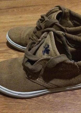 Мокасины ботинки 29 размер1 фото