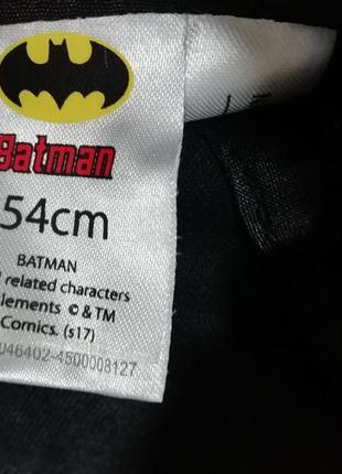 Кепка бейсболка мальчику batman размер 52-56см4
