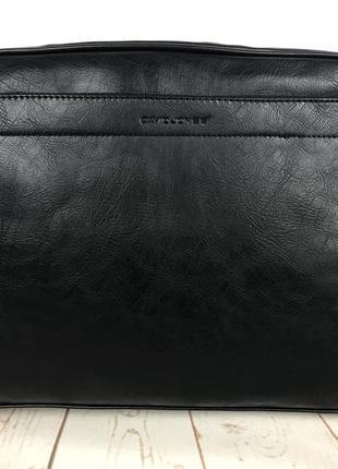 Красивая мужская сумка-портфель для документов david jones. кс89