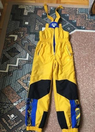 Fila куртка кстюм комбинезон лыжный термо подросток женская 152 см