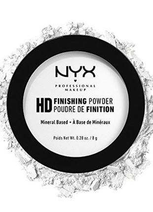 Профессиональная финишная пудра - nyx high definition finishing powder