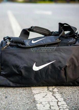 Спортивная сумка nike.сумка дорожная, спортивная найк с отделом для обуви ксс51