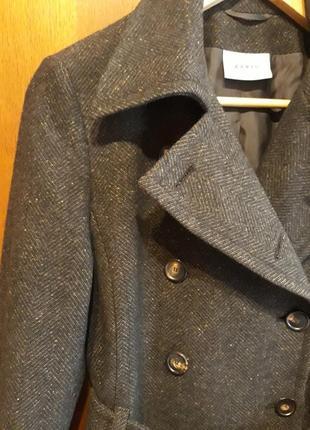 Akris punto, люкс бренд оригинал брендовое#шерстяное#деми пальто#тренч, шерсть.
