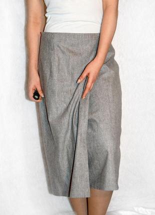 Dino valiano!! невероятно стильная юбка с запахом шикарного состава