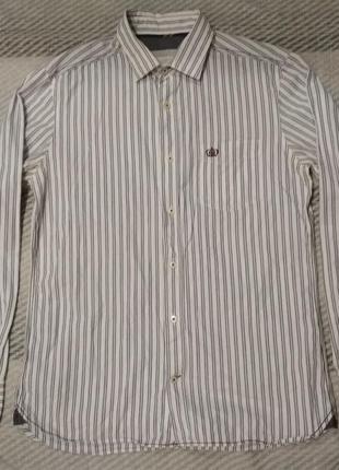 Крутая рубашка от next в полоску