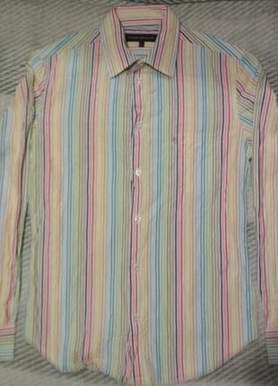 Рубашка в полоску цветная от french connection