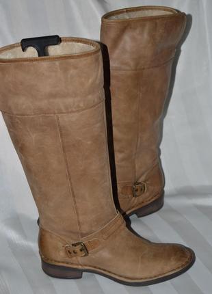 Сапоги ботинки кожа next размер 43 (9) 42, чоботи шкіра