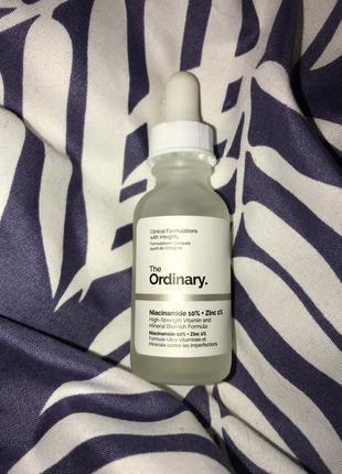 Сыворотка для проблемной кожи the ordinary niacinamide 10% zinc 1%