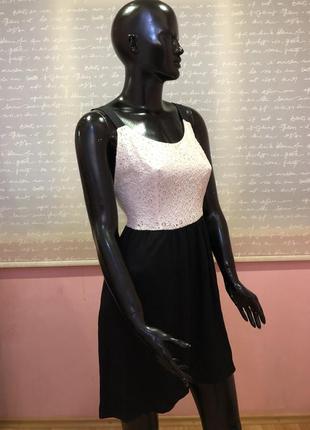 Стильное и оригинальное платье mango с открытой спикой, размер xs-s