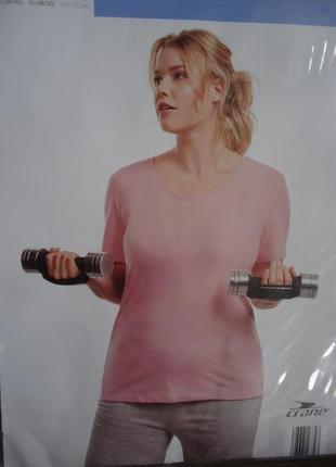 Женская футболка для спорта crane германия, р. xxl (58/60) наш