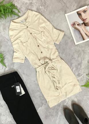 Удлиненная блуза из нежного трикотажа под пояс  bl1907026  zara