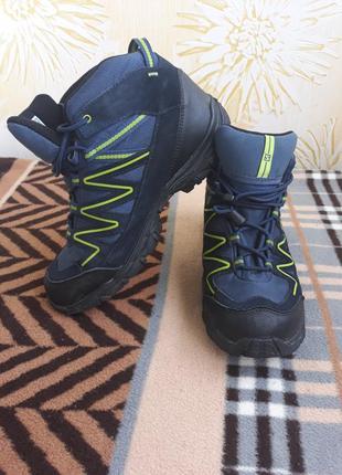 Ботинки кожаные salomon