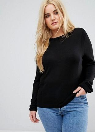 Легкий весенний джемпер с удлиненной спинкой блузой размер 22 -24 (52-56)