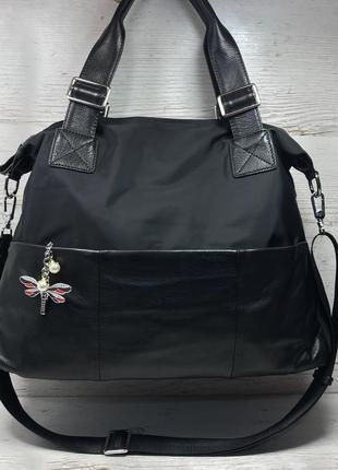 Женская большая сумка спортивная дорожная для зала спорта