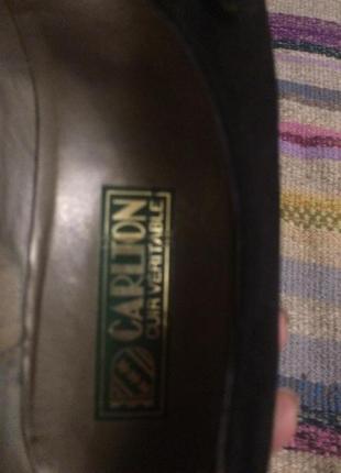 Туфли замша carlton4 фото