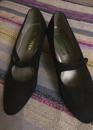 Туфли замша carlton5 фото