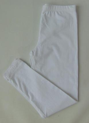 Белые лосины 10-11 лет 140-146 см george англия