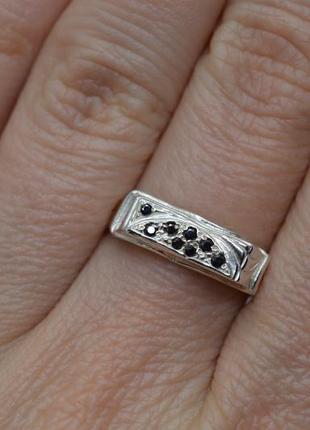 Серебряное #кольцо, #печатка, #перстень, #унисекс, #срібна печатка, #925, 18р-р