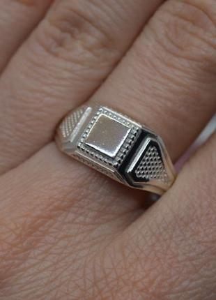 Серебряное #кольцо, #печатка, #перстень, #бескаменка, #срібна печатка, #925, 20,5р-р