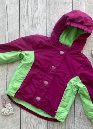 Деми курточка фирмы lupilu. на девочку 98/104 см